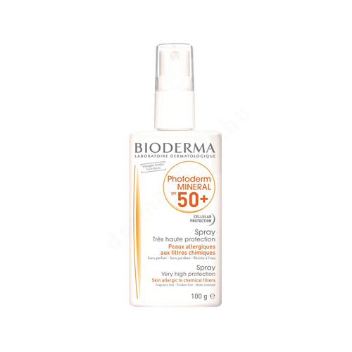 Bioderma Photoderm Mineral SPF50+/UVA22 spray 100g