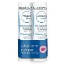 Bioderma Atoderm ajakápoló stift DUO csomag 2x4g